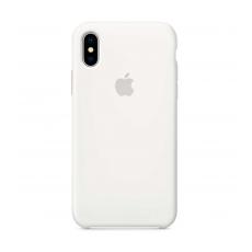 Чехол-накладка Apple для iPhone Xs, силикон, белый, фото 1