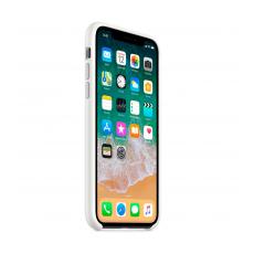 Чехол-накладка Apple для iPhone Xs, силикон, белый, фото 3