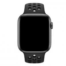 Спортивный ремешок Nike для Apple Watch 44 мм, чёрный, фото 3