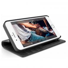 Чехол-книжка кожаный Twelve South Journal для iPhone 8/7/6s/6 Plus, чёрный, фото 3