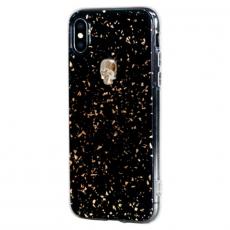 Чехол-накладка Bling My Thing Tresure 3D Gold Skull для iPhone X/Xs, с кристаллами Swarovski, чёрный, фото 2