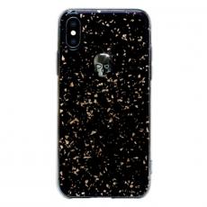 Чехол-накладка Bling My Thing Tresure 3D Hematite Skull для iPhone X/Xs, с кристаллами Swarovski, чёрный, фото 1