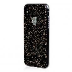 Чехол-накладка Bling My Thing Tresure 3D, Silver Skull для iPhone X/Xs, с кристаллами Swarovski, чёрный, фото 2