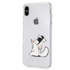 Чехол Lagerfeld Choupette для iPhone XS Max, прозрачный, фото 2