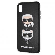 Чехол Lagerfeld Choupette для iPhone XS Max, чёрный, фото 1