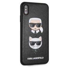 Чехол Lagerfeld Choupette для iPhone XS Max, чёрный, фото 2