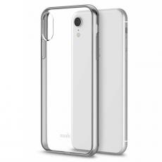Чехол Moshi Vitros для iPhone XR, прозрачный/серебряный, фото 1