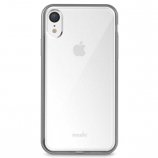 Чехол Moshi Vitros для iPhone XR, прозрачный/серебряный, фото 2