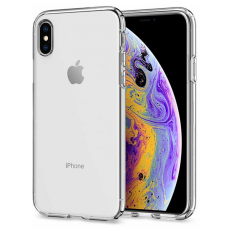 Чехол-накладка SGP Liquid Crystal для iPhone Х/Xs, полиуретан, прозрачный, фото 1