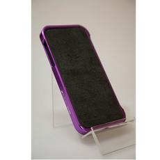 Бампер для iPhone 5, 5S, SE, фиолетовый, фото 2