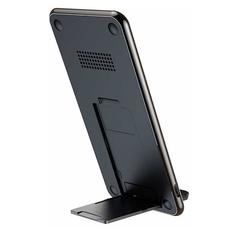 Беспроводное зарядное устройство Baseus Three-coil для iPhone, чёрный, фото 2