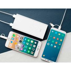 Внешний аккумулятор Xiaomi Mi ZMI Aura USB-A, USB-C, 20000 mAh, белый, фото 2