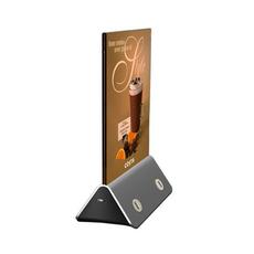 Зарядное устройство в форме меню-холдера Power Menu, 10000 мАч, чёрный, фото 1