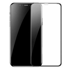 Защитное стекло 5D 9H для iPhone XR, чёрный, фото 1