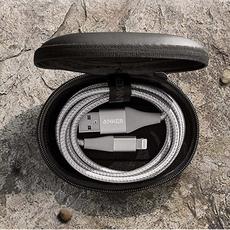Кабель Anker PowerLine+ II, с USB-A на Lightning, 90 см, 30000+ перегибов, серебристый, фото 3