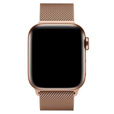 Миланский браслет Apple для Apple Watch 38 мм, оригинал, сетчатый, золотистый, фото 3