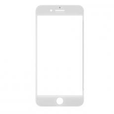 Переднее стекло с рамкой для iPhone 8 Plus, полный ремкомплект, оригинал, белый, фото 1