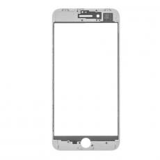 Переднее стекло с рамкой для iPhone 8 Plus, полный ремкомплект, оригинал, белый, фото 2