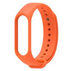 Ремешок силиконовый для Xiaomi Mi Band 3, оригинал, оранжевый, фото 1