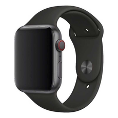 Ремешок Apple спортивный для Apple Watch 42 мм, SM/ML, чёрный, фото 1