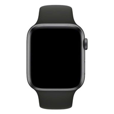 Ремешок Apple спортивный для Apple Watch 42 мм, SM/ML, чёрный, фото 2