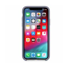 Силиконовый чехол для iPhone XS Max, тёмная лаванда, фото 2