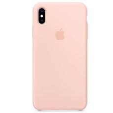 "Чехол-накладка Apple для iPhone X/Xs, силикон, ""розовый песок"", фото 1"