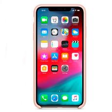 "Чехол-накладка Apple для iPhone X/Xs, силикон, ""розовый песок"", фото 2"