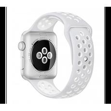 Спортивный ремешок Nike для Apple Watch 38 мм, чистая платина, фото 3
