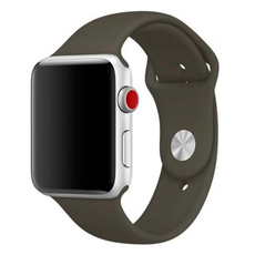 Спортивный ремешок Nike для Apple Watch 38 мм, тёмно-оливковый, фото 1