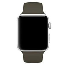 Спортивный ремешок Nike для Apple Watch 38 мм, тёмно-оливковый, фото 2