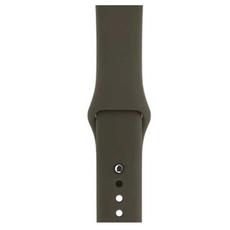 Спортивный ремешок Nike для Apple Watch 38 мм, тёмно-оливковый, фото 3