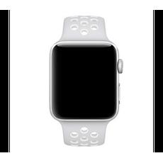 Спортивный ремешок Nike для Apple Watch 38 мм, чистая платина, фото 1