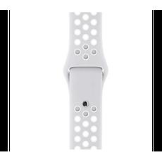 Спортивный ремешок Nike для Apple Watch 38 мм, чистая платина, фото 2