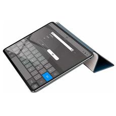 Чехол кожаный Baseus Simplism Y-Type для iPad Pro 12.9 (2018), синий, фото 2