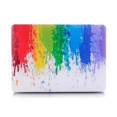 """Чехол-накладка для Macbook Pro 13 (2016) i-Blason, пластиковая, """"цветные чернила"""", фото 1"""
