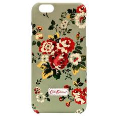 Чехол-накладка для iPhone 6/6S Cath Kidston, зеленый/красные цветы, фото 1