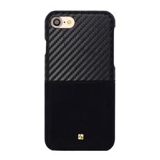 Чехол-накладка Just Must Carbon Mix Collection для iPhone 7/8, поликарбонат, чёрный, фото 1