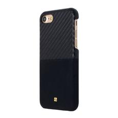 Чехол-накладка Just Must Carbon Mix Collection для iPhone 7/8, поликарбонат, чёрный, фото 2