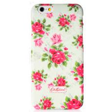 Чехол-накладка Cath Kidston для iPhone 6/6S, белый/розовые цветы, фото 1