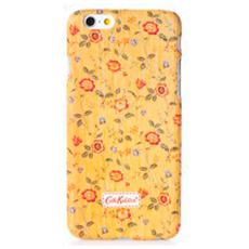 Чехол-накладка Cath Kidston для iPhone 6/6s, поликарбонат, желтый / розовый, фото 1