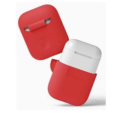 Чехол силиконовый Elago для AirPods, красный, фото 3