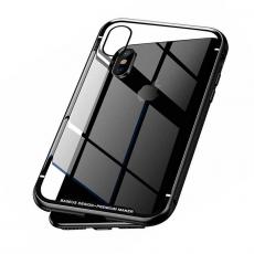 Чехол Baseus Magnetite Hardware Case для iPhone X, чёрный, фото 1