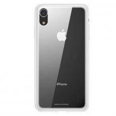 Чехол Baseus See-through Glass для iPhone XR, белый, фото 1