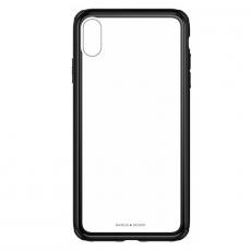 Чехол Baseus See-through Glass для iPhone XR, чёрный, фото 1