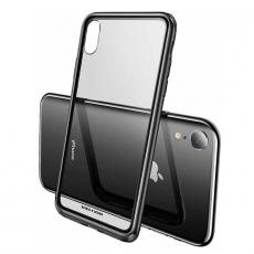 Чехол Baseus See-through Glass для iPhone XR, чёрный, фото 2