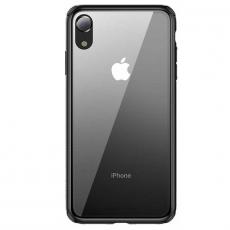 Чехол Baseus See-through Glass для iPhone XR, чёрный, фото 3
