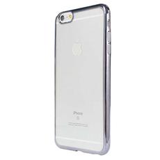Чехол-накладка HANDY Invisible для iPhone 7/8, полиуретан, прозрачный / серый, фото 1