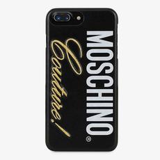 Чехол Moschino Milano для iPhone 6/6S Plus, чёрный, фото 1