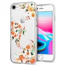 Чехол-накладка SGP Liquid Crystal Aquar для iPhone 7/8, силикон / полиуретан, бежевый, фото 1